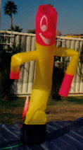 air dancers - dancing man balloons - many types, sizes and colors available. skydancers