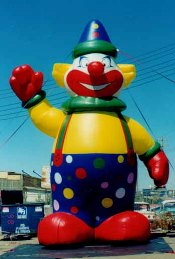 Clown - giant clown inflatables for rent.