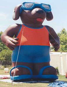25' Cool dog cold-air inflatable