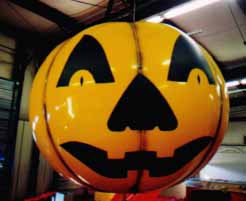 Jack o'lantern helium balloon - Halloween inflatables